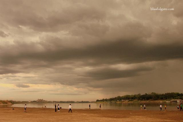 Mekong River Vientiane Laos