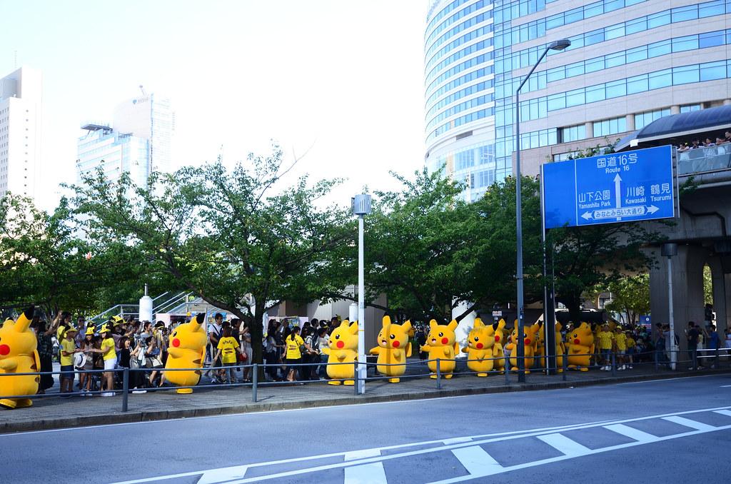 Pikachu Parade in Yokohama