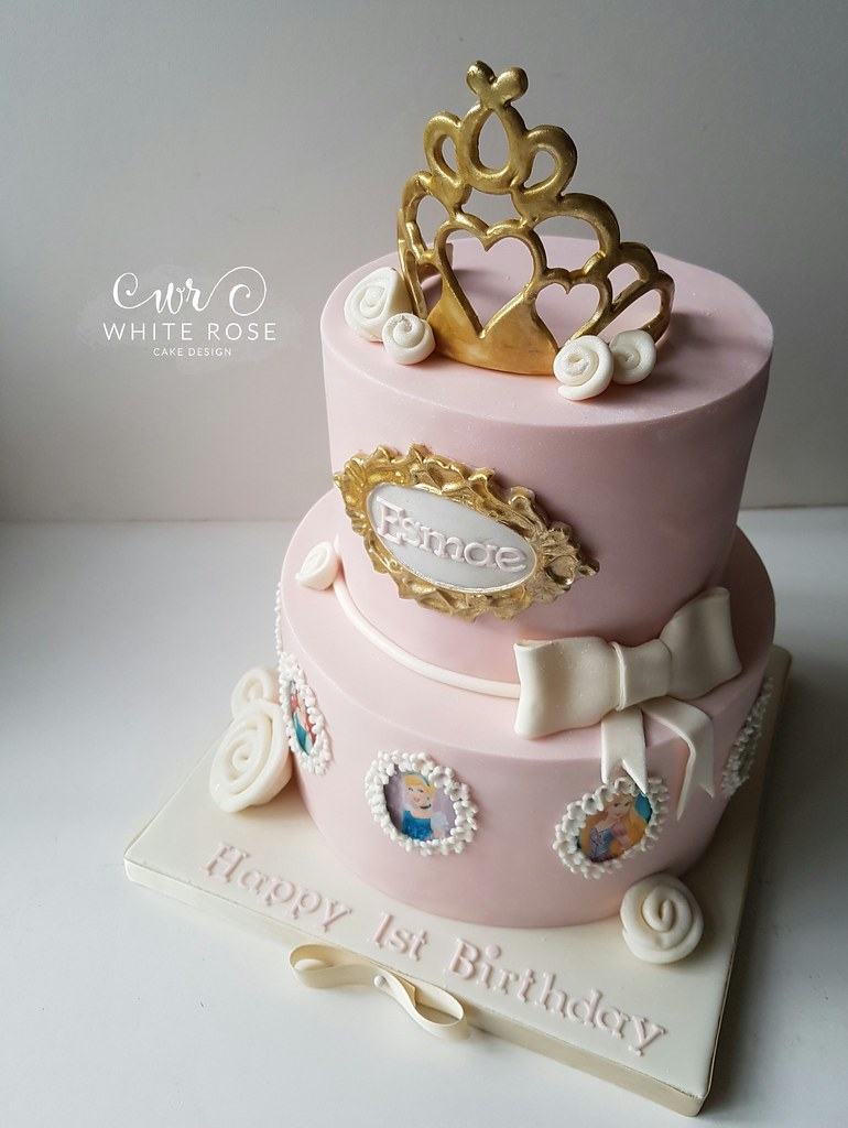 Princess Birthday Cake By White Rose Cake Design West York Flickr