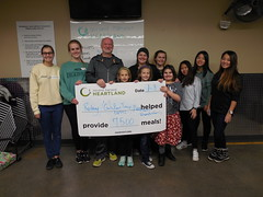 Rotary, Girl Scout Troop 56942, Dicerson Friends and Family 1-3-17