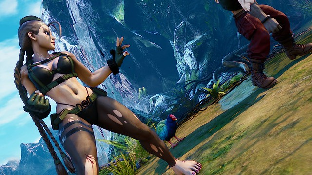 Street Fighter 5 Mod Updates Sexy Quiet Outfit From Metal
