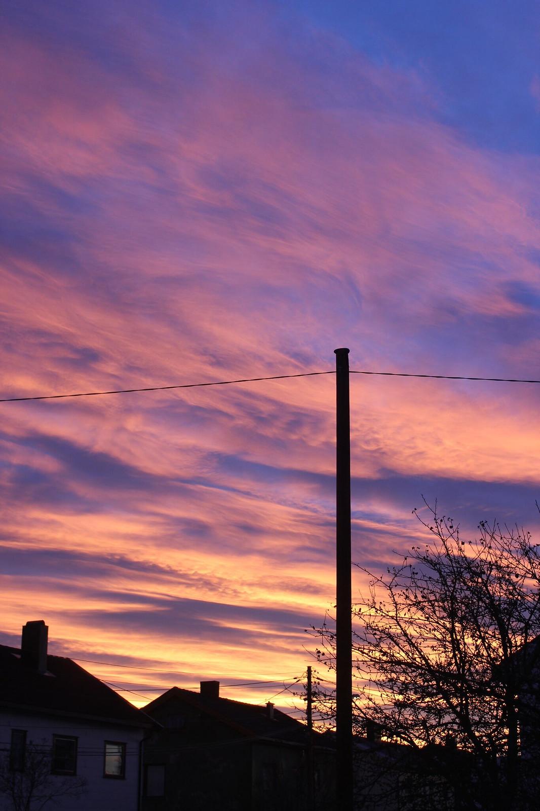Pink sunset sky / etdrysskanel.com