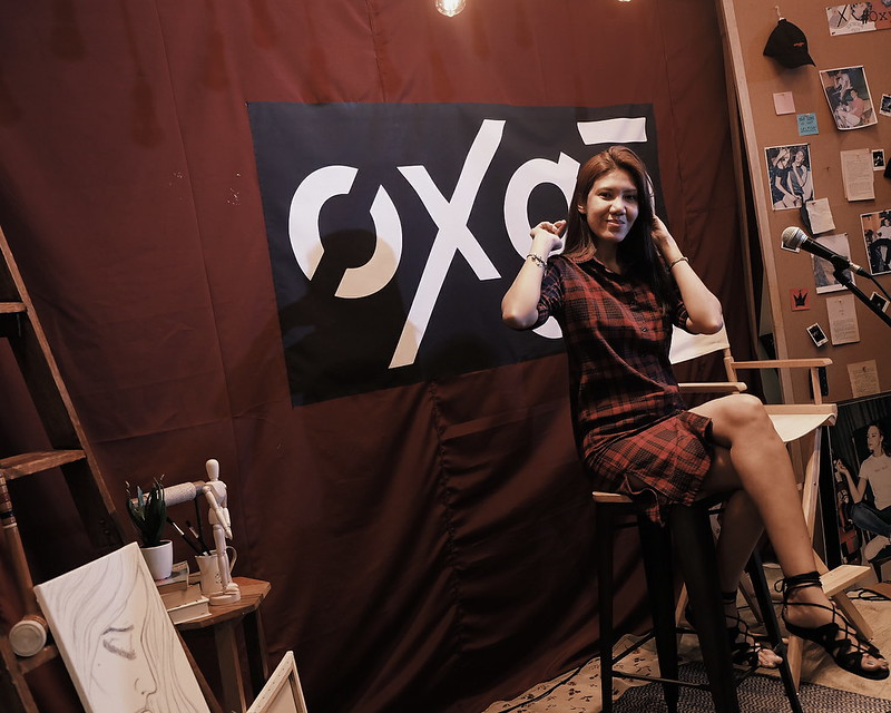 oxygen free concert Artist's Room