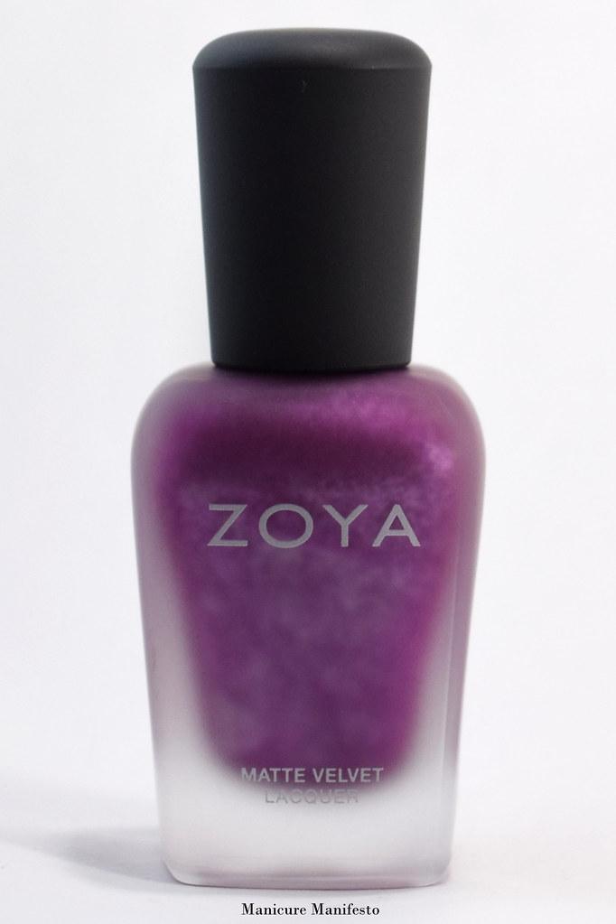 Zoya matte nail polish
