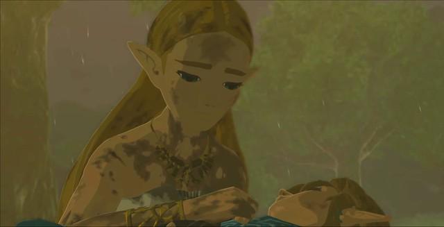Legend of Zelda Breath of the Wild - Link's Death