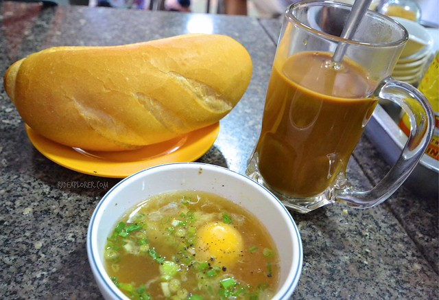 saigon food trip vietnamese coffee baguette
