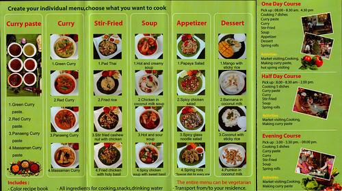 Brochure Smile Organic Farm Cooking School Chiang Mai Thailand 2