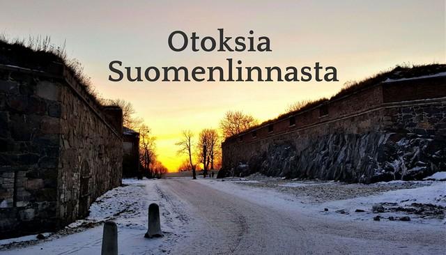 Otoksia Suomenlinnasta