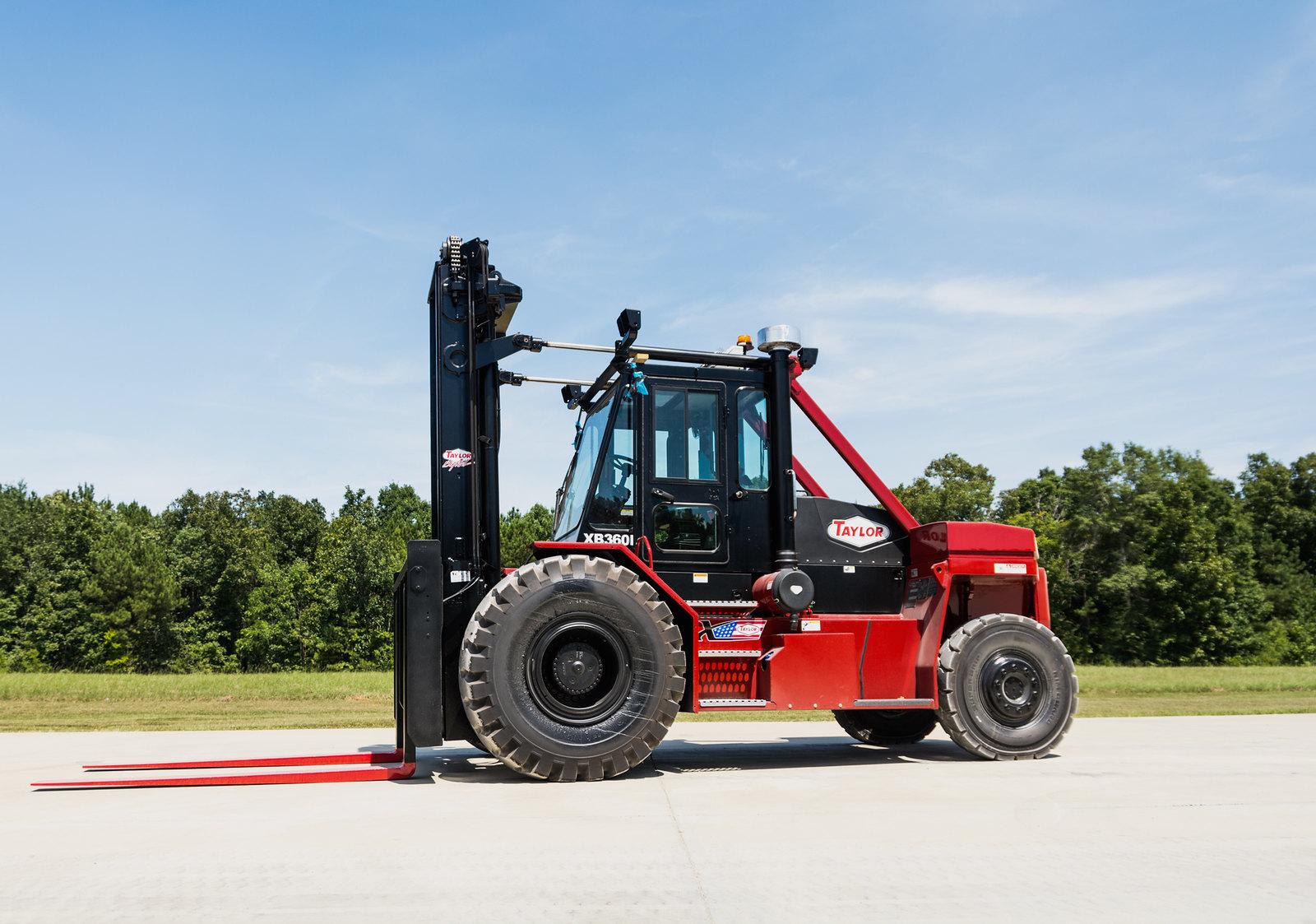 Big Wheel Taylor Products Forklift Hydraulic Control Valve Diagram Mast Bigwheel Xb 360l 36000lb Capacity