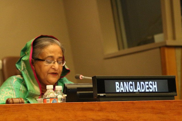 "High-level Event organized by Bangladesh on ""MDGs to SDGs - Way Forward, September 29, 2015"