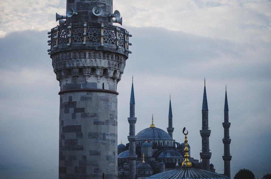 niebieski meczet stambuł