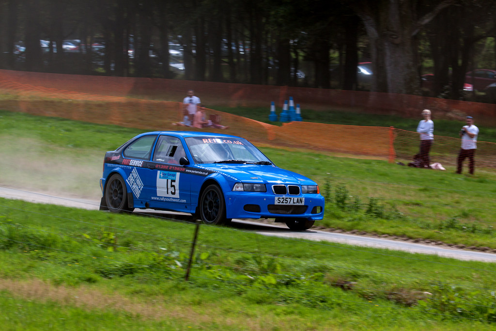 Bmw Compact Boconnoc 2015 S7 Bmw Compact Rally Car On Stag Flickr