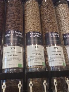 céréales vente sans emballage