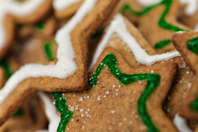 gingerbread christmas tree platter cookies #spreadcheer