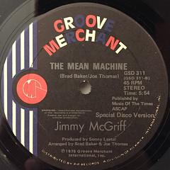 JIMMY MCGRIFF:IT FEELS SO NICE(DO IT AGAIN)(LABEL SIDE-B)
