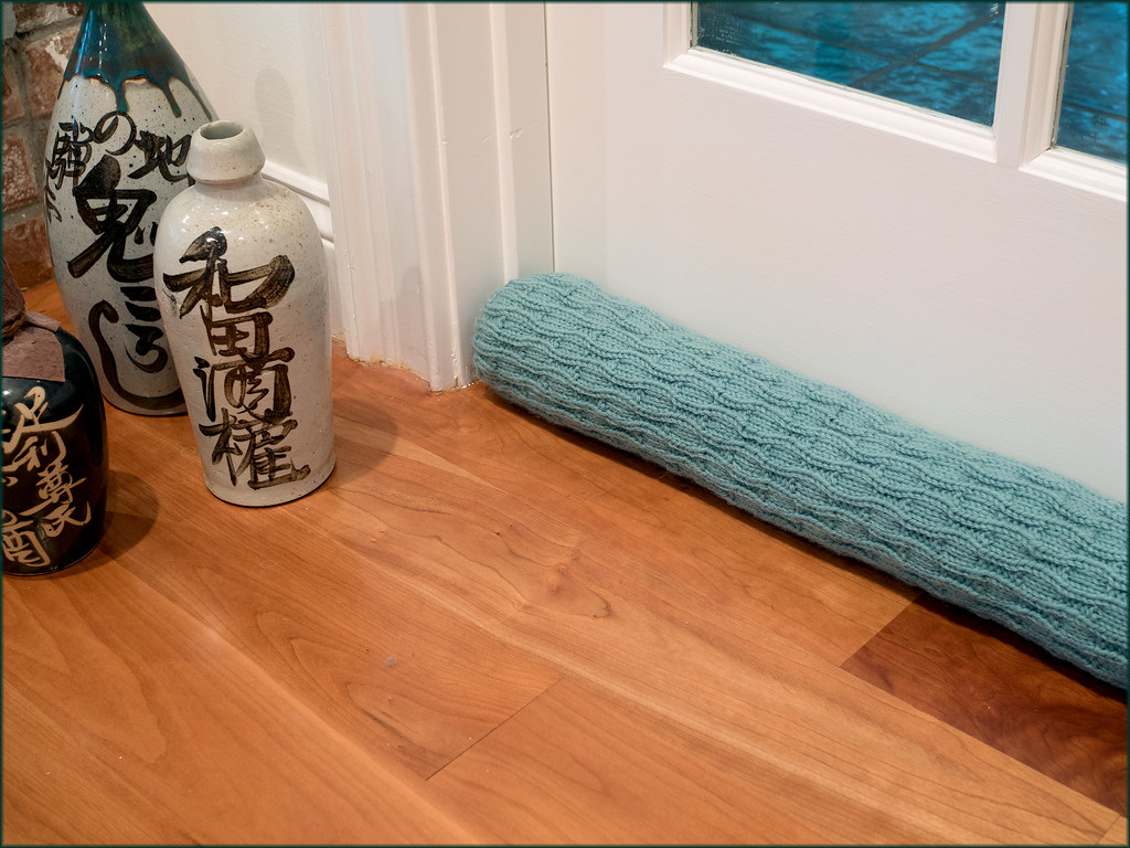 Rothay Draught Excluder Knitting Pattern There Is Nothing Flickr