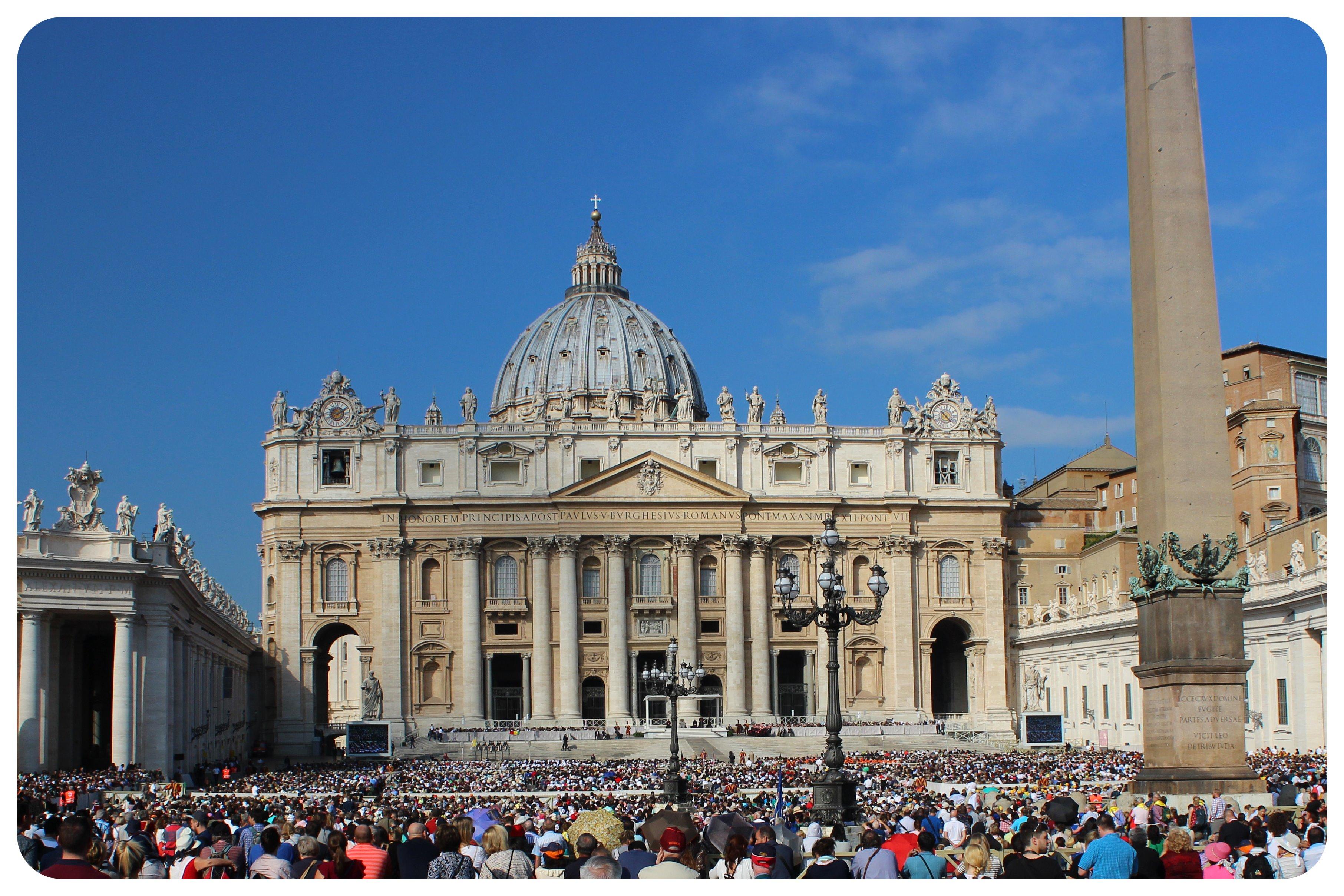 rome papal audience