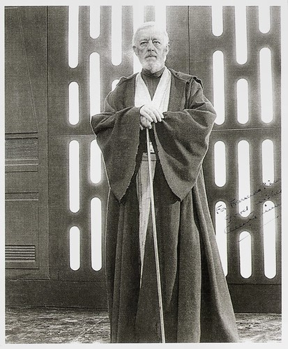 Alec Guinness in Star Wars (1977)