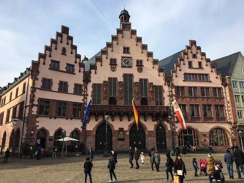 Romerplatz in Frankfurt