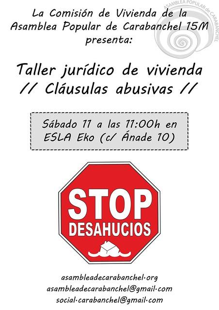 Taller clausulas abusivas (11.2.17)