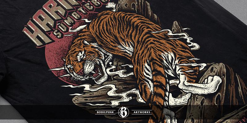 Mockup - Sumatran Tiger