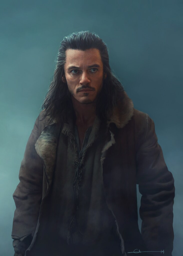 The Hobbit - Bard the Bowman by euclase