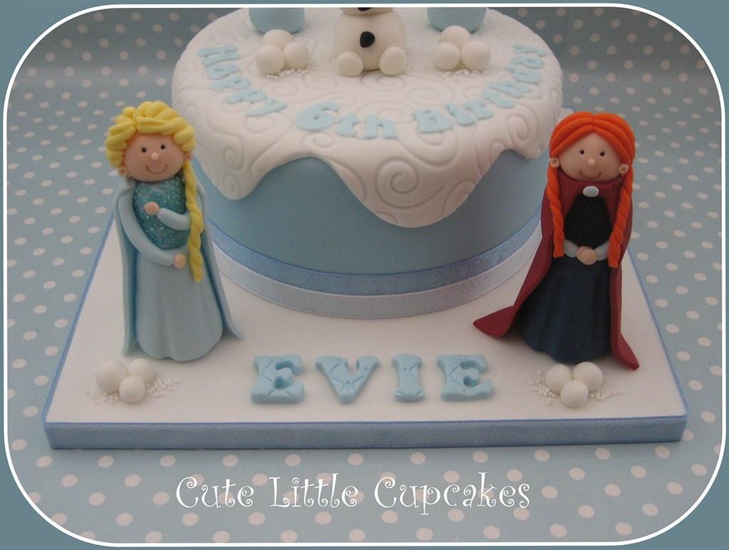 Frozen Themed Birthday Cake Heidi Stone Flickr