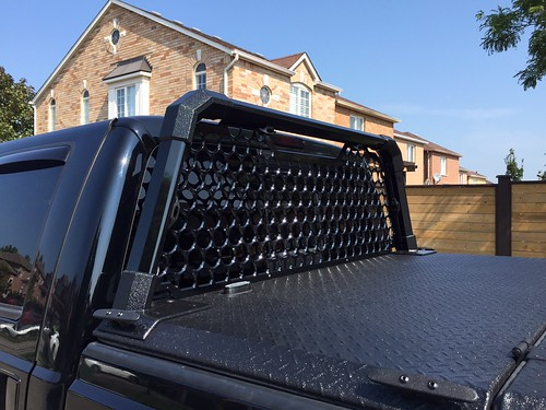 Rambox Tonneau Cover >> A Heavy Duty Tonneau Cover And Custom Headache Rack On A F ...