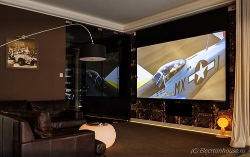 Проект для квартиры на 150м*м. Аудио-видео и компьютерная системы