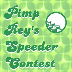 Enter the Brothers Brick's Pimp Rey's Speeder Contest