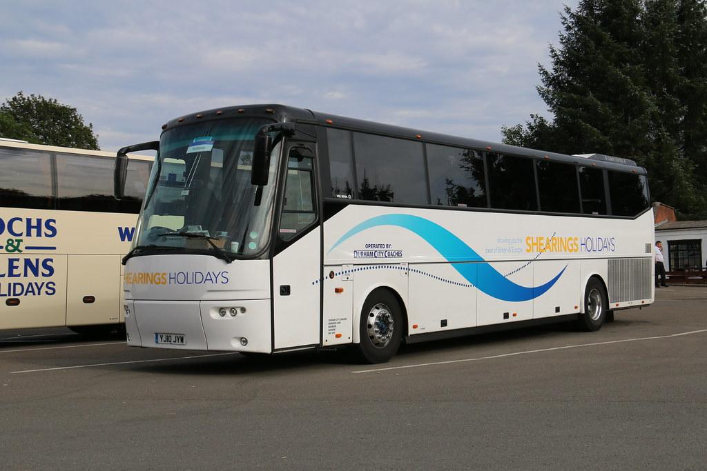 Durham City Coaches Yj10jyw Yj10 Jyw Is A Bova Futura Fhd1 Flickr