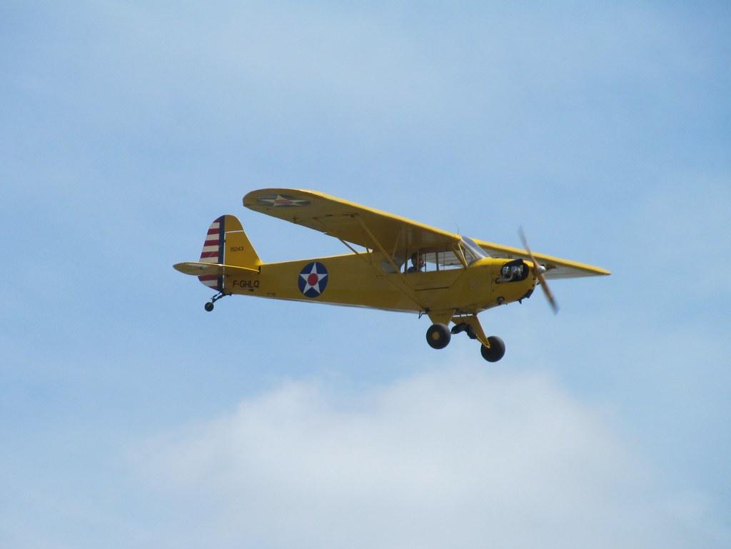 ... F-GHLQ Piper J3C Cub 65 (c/n 15243) Compiegne | by