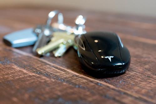 Tesla Model S Key Fob The Key Is Definitely One Of The