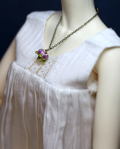 BJD glass bead necklace | by Vitarja