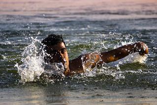 Swimmer... Swimmer's Ear
