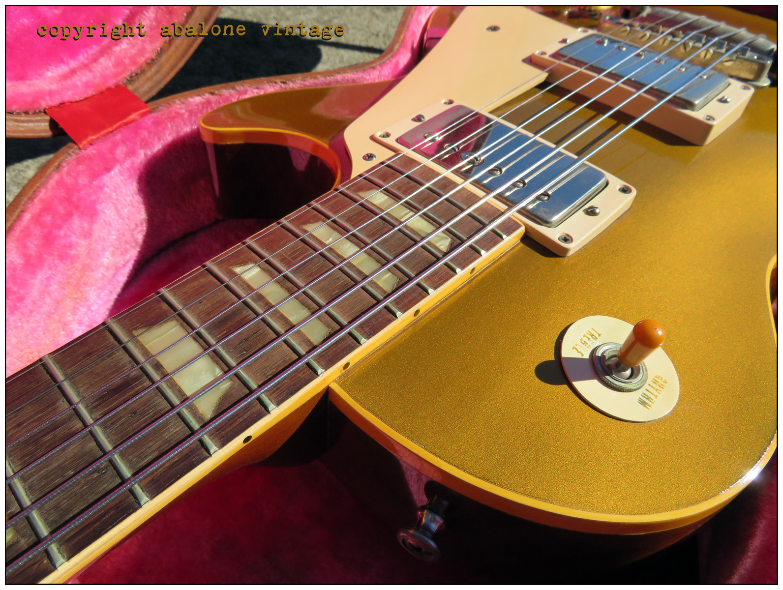 Awesome Find Nm 1957 Goldtop With Case Candy Page 2 Guitar Wiring 101 Basic Electronics Mylespaulcom Actual In Question Pic