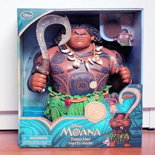 Disney Store Maui Figure