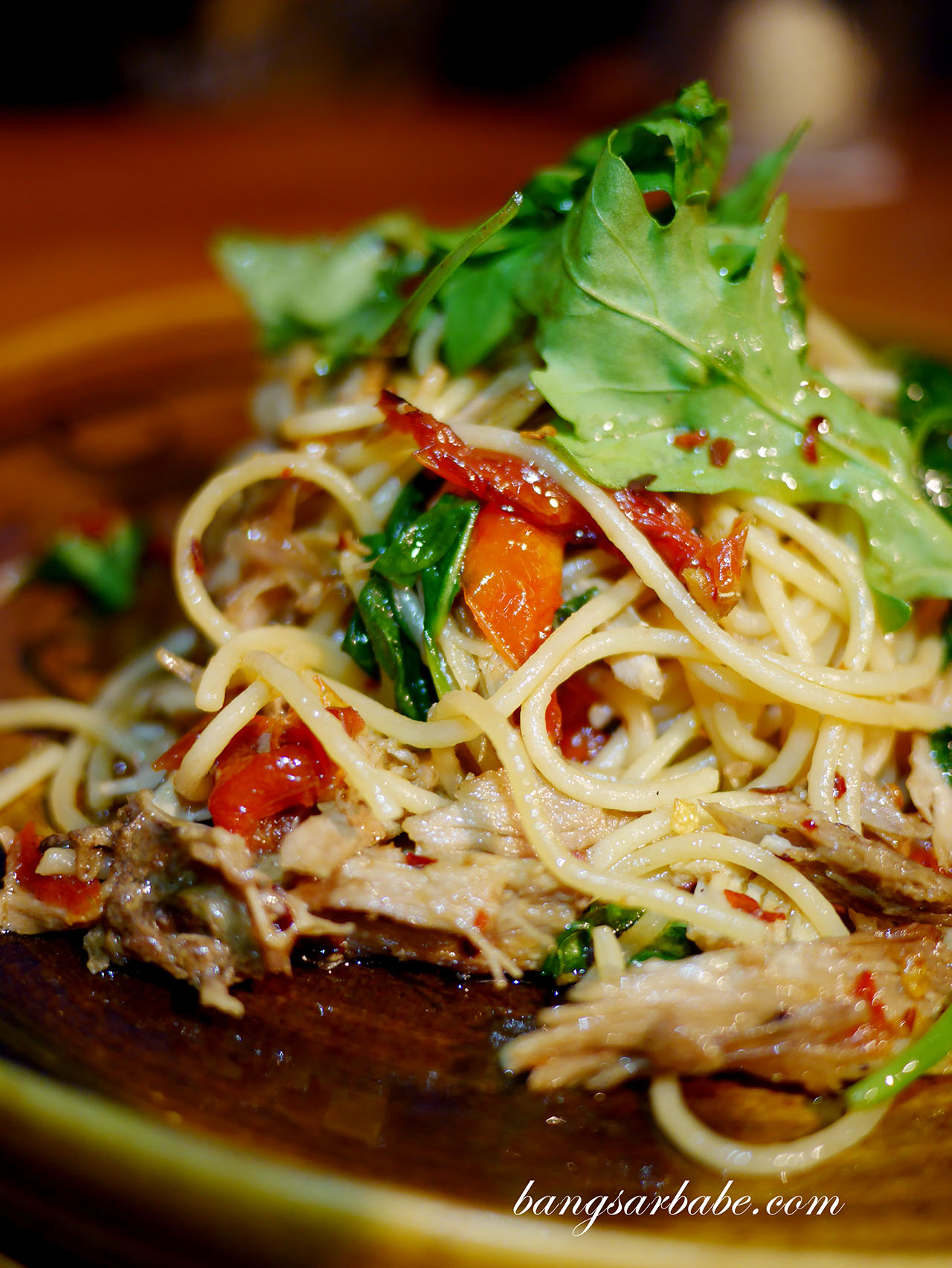 Shredded Duck Confit Pasta