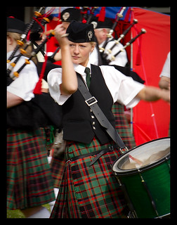 "Pipe Band 16 ""Drummer Girl"" 