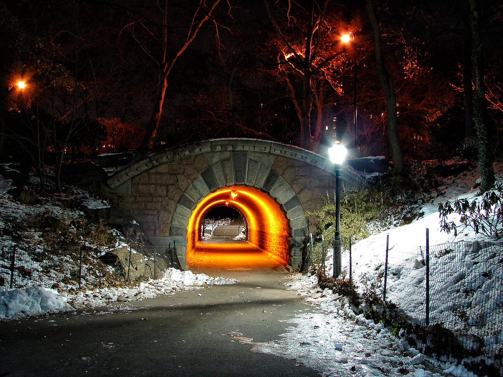 Inscope Arch - Central Park, NY. Picture of the inside www ...