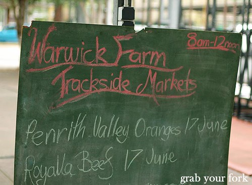 Trackside markets | by Helen (Grab Your Fork)