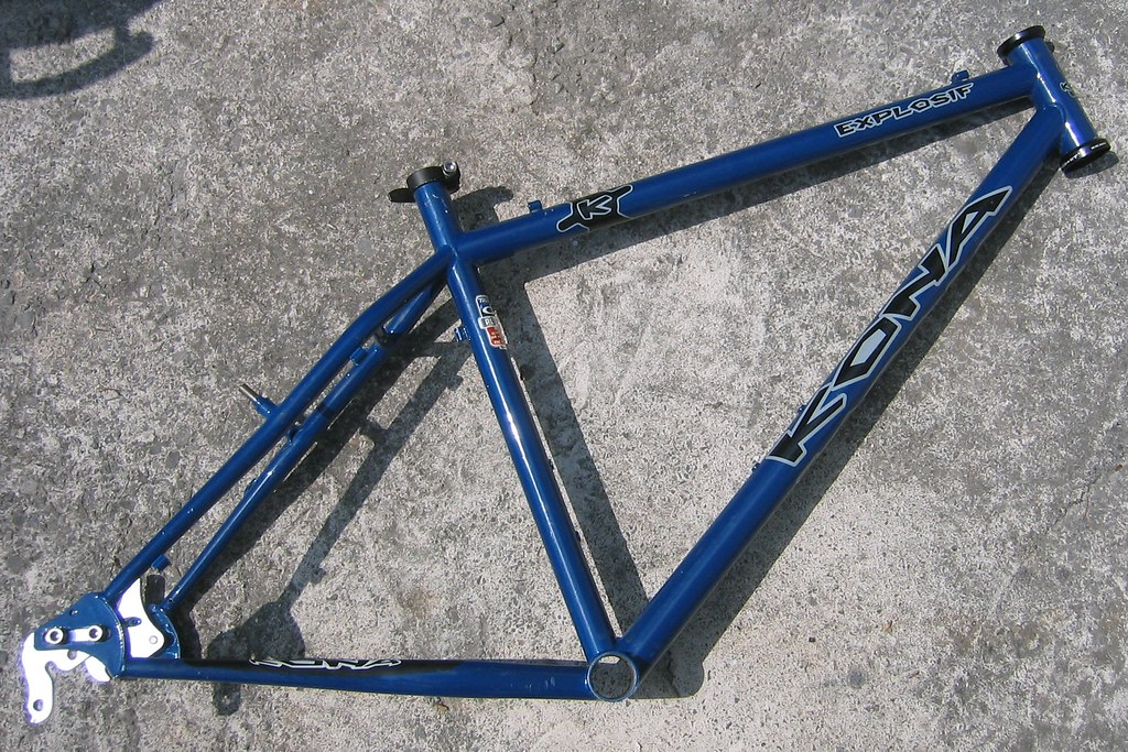 Kona Explosif frame   Part 1 Here begins the build of my new…   Flickr