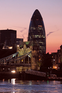 Gherkin at Sunset | by Keith Marshall
