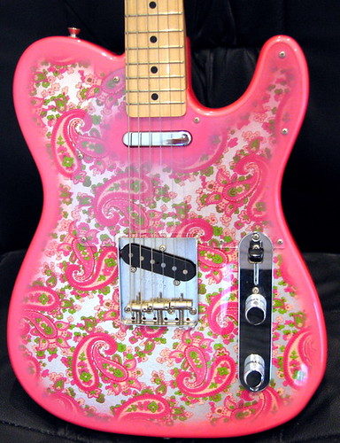 fender telecaster 1969 reissue in pink paisley this is my flickr. Black Bedroom Furniture Sets. Home Design Ideas