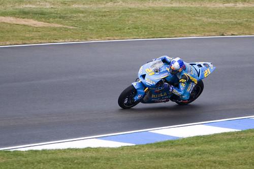 MotoGP: John Hopkins (Rizla Suzuki) | Stuart R Brown | Flickr