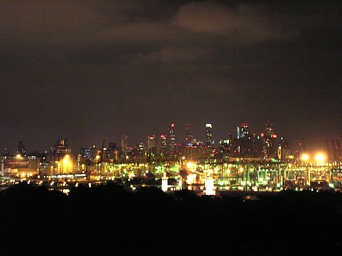 Singapore at night looking across from Sentosa Island | Flickr