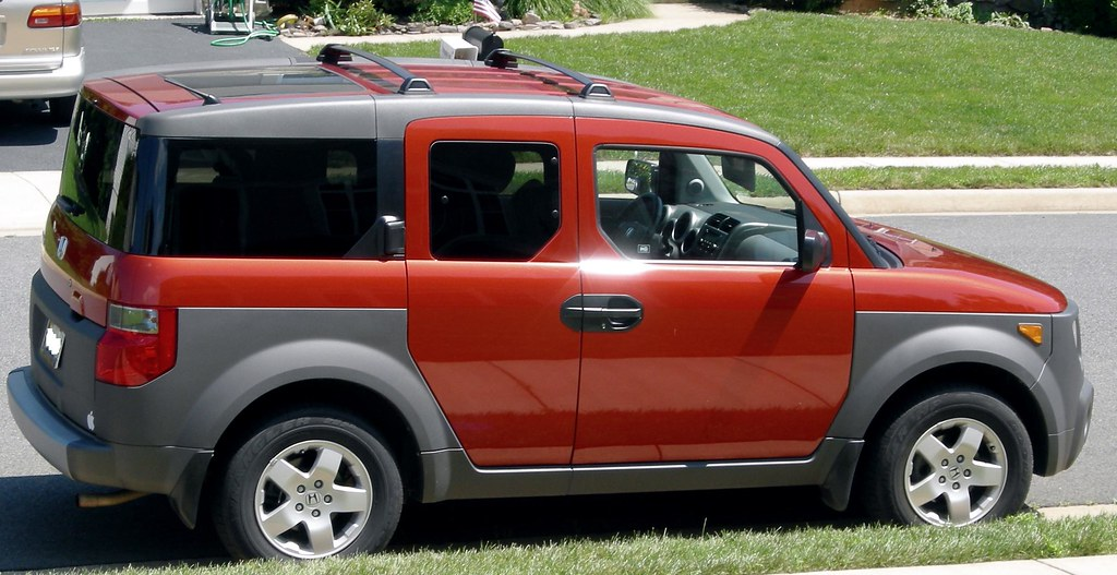 New Honda Pilot >> Sunset Orange Pearl 2004 Honda Element EX | gridmaster1 | Flickr
