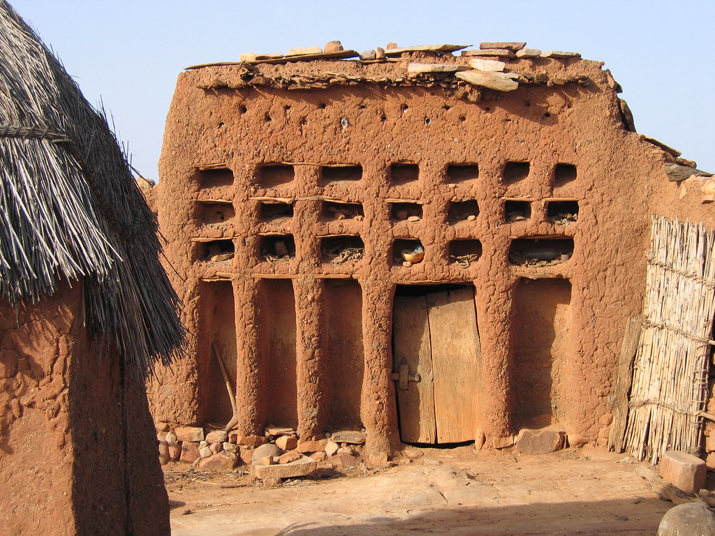 Dogon Family House Known In Dogon Language As Quot Ginnu Na