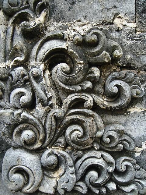 Ulutwatu carvings temple fugeela