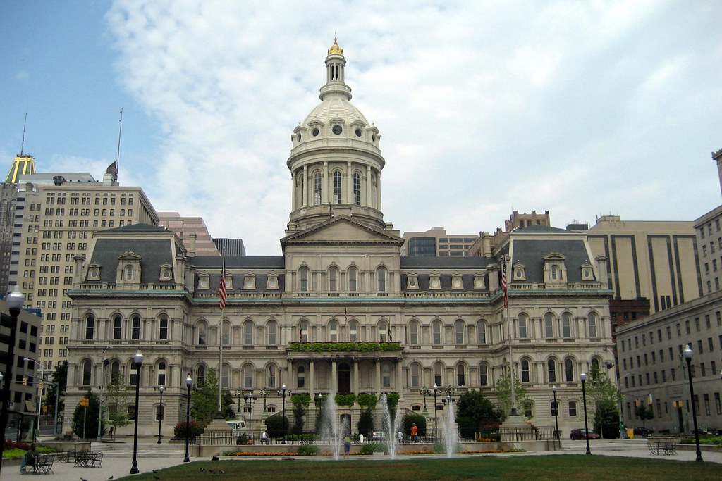 Baltimore City Hall Baltimore City Hall Situated On A